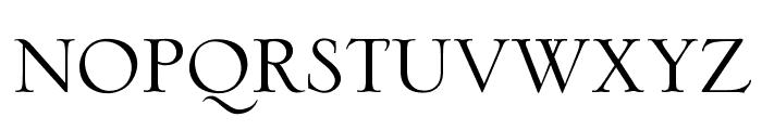 OPTISerlio Font LOWERCASE