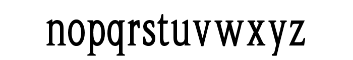 OPTIShawmut-Special Font LOWERCASE