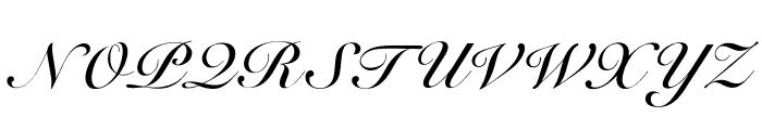 OPTISicilia-Bold Font UPPERCASE