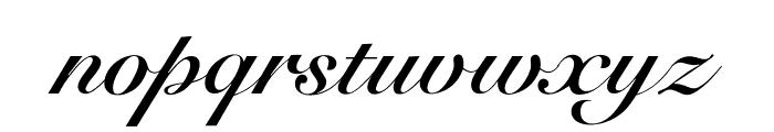 OPTISicilia-Bold Font LOWERCASE
