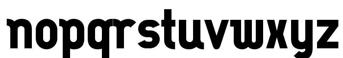 OPTISimilunatix-Heavy Font LOWERCASE