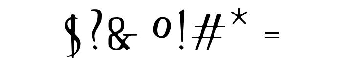 OPTISin-Regular Font OTHER CHARS