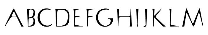 OPTISin-Regular Font UPPERCASE