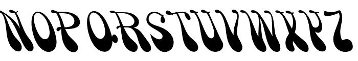 OPTISmoke Font UPPERCASE