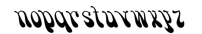 OPTISmoke Font LOWERCASE