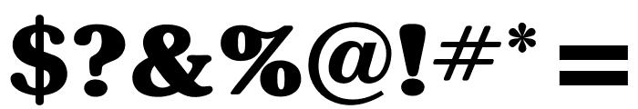OPTISouvenir-Bold Font OTHER CHARS