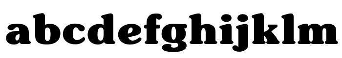 OPTISouvenir-Bold Font LOWERCASE