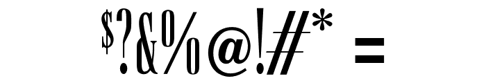 OPTISpire Font OTHER CHARS