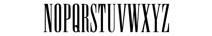 OPTISpire Font UPPERCASE