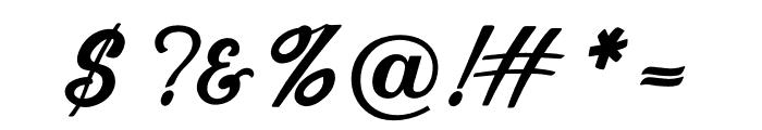 OPTISport-Script Font OTHER CHARS