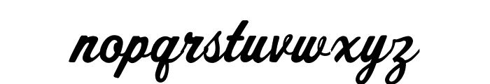 OPTISport-Script Font LOWERCASE