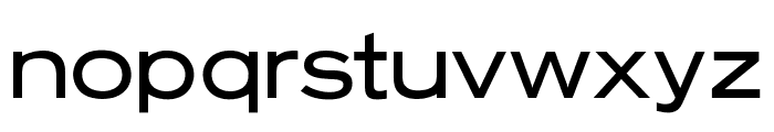 OPTIStaines-Extended Font LOWERCASE