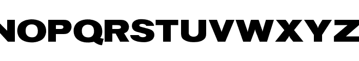OPTIStainesXtraBoldExtend Font UPPERCASE