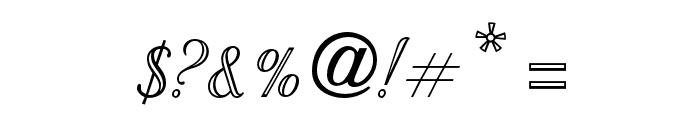 OPTIStoyer-Script Font OTHER CHARS