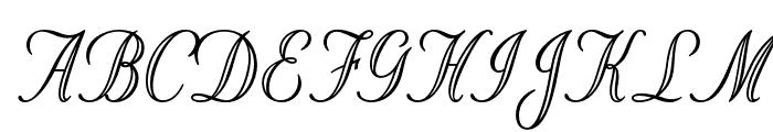 OPTIStoyer-Script Font UPPERCASE