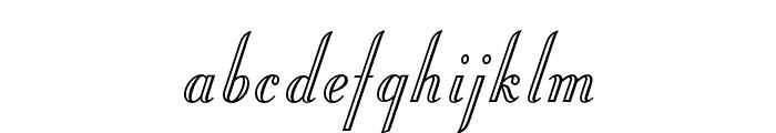 OPTIStoyer-Script Font LOWERCASE