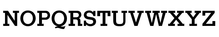 OPTIStymie-Bold Font UPPERCASE