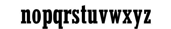 OPTIStymie-BoldCondensed Font LOWERCASE