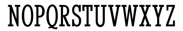 OPTIStymie-MediumCond Font UPPERCASE