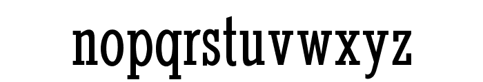 OPTIStymie-MediumCond Font LOWERCASE