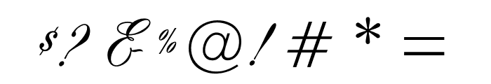 OPTISwallow-Bold Font OTHER CHARS