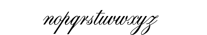 OPTISwallow-Bold Font LOWERCASE