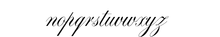 OPTISwallow Font LOWERCASE