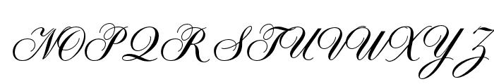OPTISybaris-Bold Font UPPERCASE