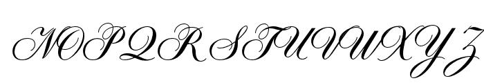 OPTISybaris-BoldSupplement Font UPPERCASE