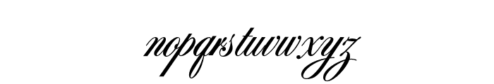 OPTISybaris-Bold Font LOWERCASE