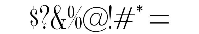 OPTISyracuse Font OTHER CHARS