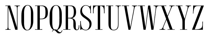 OPTISyracuse Font UPPERCASE