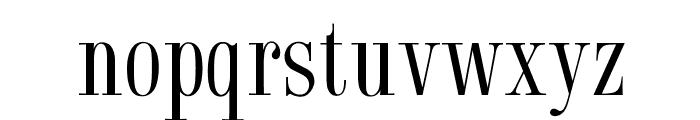 OPTISyracuse Font LOWERCASE