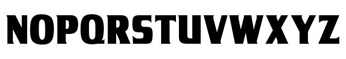 OPTITamil-BlackAgency Font UPPERCASE