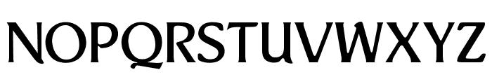 OPTIThaddeus-Light Font UPPERCASE