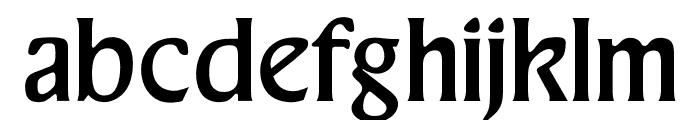 OPTIThaddeus-Light Font LOWERCASE