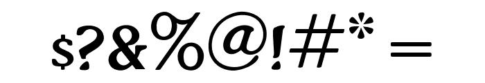 OPTIThaddeusLight-Suppl Font OTHER CHARS