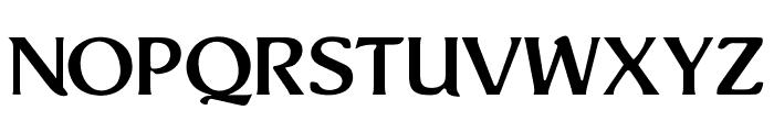 OPTIThaddeusLight-Suppl Font LOWERCASE
