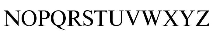 OPTITimes-Roman Font UPPERCASE