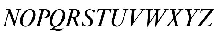 OPTITimesRoman-Italic Font UPPERCASE