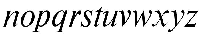 OPTITimesRoman-Italic Font LOWERCASE