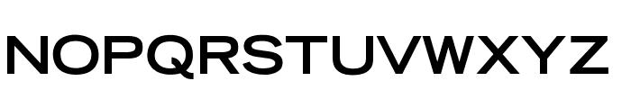 OPTITomasoBold-Extended Font UPPERCASE