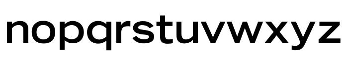 OPTITomasoBold-Extended Font LOWERCASE