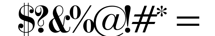 OPTITorry-ExtraBold Font OTHER CHARS