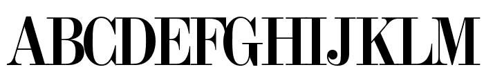 OPTITorry-ExtraBold Font UPPERCASE