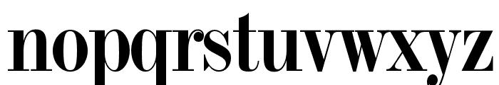OPTITorry-ExtraBold Font LOWERCASE