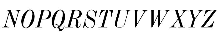 OPTITorry-Italic Font UPPERCASE