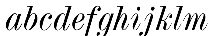 OPTITorry-Italic Font LOWERCASE