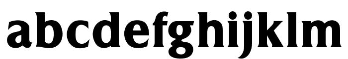 OPTITriplettBoldAgency Font LOWERCASE