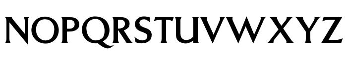 OPTITriplettLight-Agency Font UPPERCASE